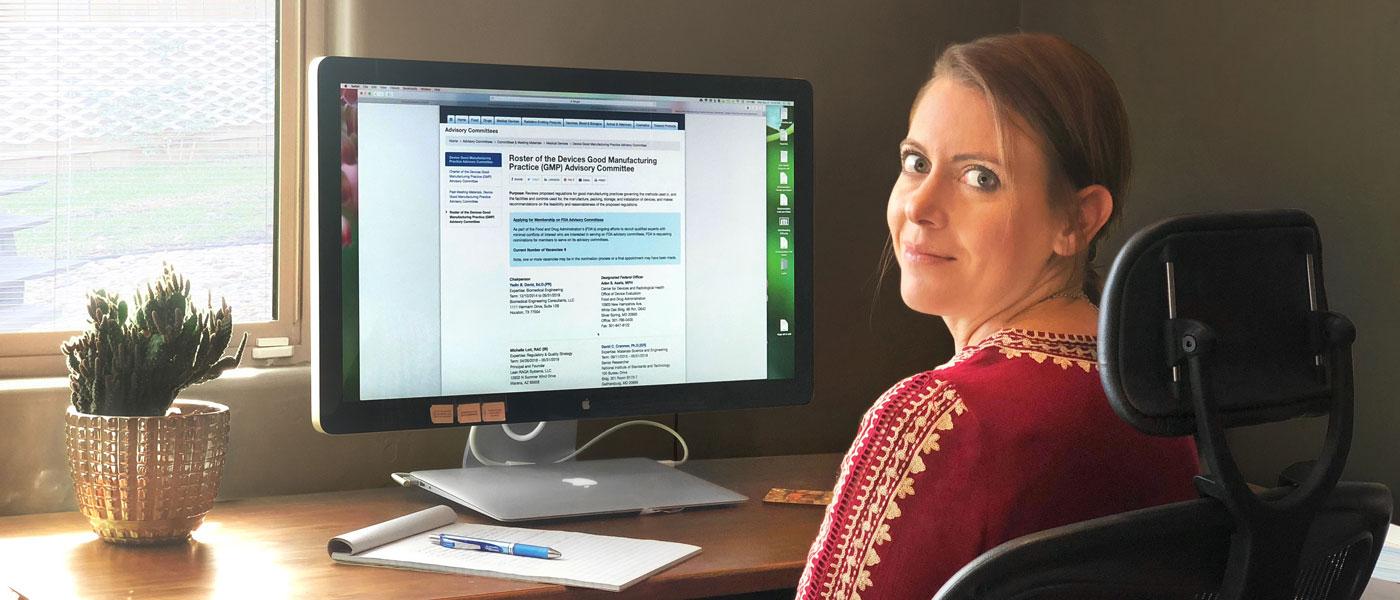 Michelle Lott, Regulatory Strategy and Quality Assurance