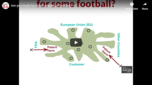 Ready for some regulatory football? [video]