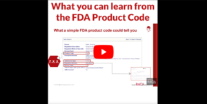 What you can learn from the FDA product code