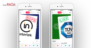 Should you swipe right or left on your notified body?
