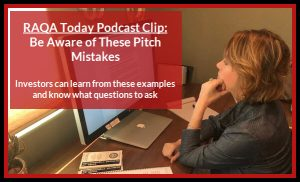 Be Aware of These Pitch Mistakes